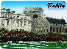 Fridge magnet,Dublin,irish souvenir.gift,ireland 3D design DUBLIN CASTLE/DAY