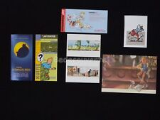 LOT HERGE ESTEVE FORT TINTIN Bar Cartes Hommage (340)
