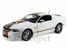 COLLECTIBLES 2012 FORD SHELBY MUSTANG GT350 GT 350 1/18 WHITE with GOLD STRIPES