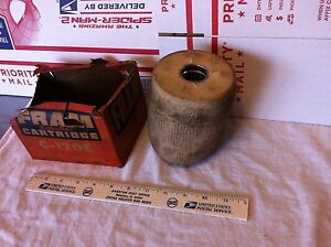 Dodge and IH filter, Fram, C-120E/676575,   NOS and badly soiled.    Item:  1848