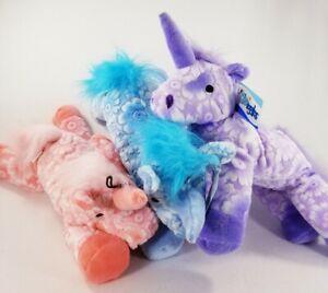 Fancy Filly Unicorn Squeaker Soft Plush Horse dog toys toy puppy Gift B58