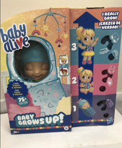 "Baby Alive ""Baby Grows Up"" Happy Hope or Merry Meadows Growing Doll"