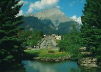 CANADIAN ROCKIES, BANFF and CASCADE MOUNTAIN POSTCARD - NEW
