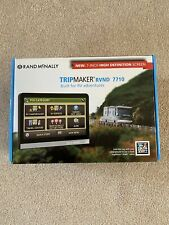 Rand Mcnally TripMaker RVND 7710 GPS RV HD 7 inch screen