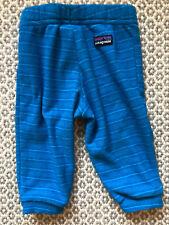 Patagonia Blue Fleece Pants 6 Mo