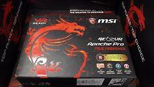 MSI GE62VR APACHE PRO-086 15.6'' IPS  i7-6700HQ 16GB GTX 1060 3G 256 SSD+1TB