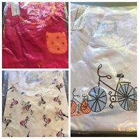 Pyjama Top, Loungewear Nightwear Short Sleeved Plus Size 16/18/24/26/30/32/34 BN
