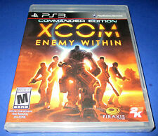 XCOM: Enemy Within -- Commander Edition Sony PlayStation 3 (PS3) Factory Sealed!