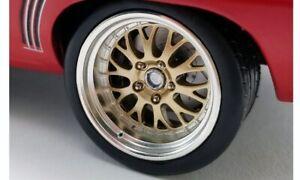 1:18 Big Red Pro Touring Wheel & Tyre Set