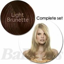 "Babyliss Light Brunette Styleable Clip In Hair Extension Set - 18"" 18 inch"