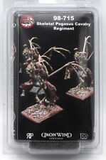Ral Partha 98-715 Skeletal Pegasus Cavalry Regiment (Chaos Wars) Undead Warriors
