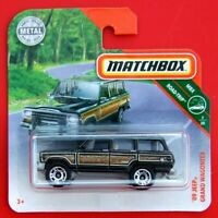 MATCHBOX 2019  ´89 JEEP GRAND WAGONEER  14/100   NEU&OVP
