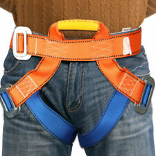Harness Seat Belts Sitting Safety Outdoor Rock Crag Climbing Rappelling Equip UK