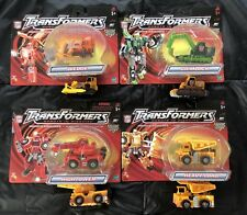2 Sets, Hasbro Transformers Robots In Disguise Landfill / Devastator, 2001,