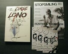 *1983 HUNTER S. THOMPSON / RALPH STEADMAN *CURSE OF LONO* 1ST ED. + PROMO ITEMS*