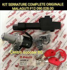 Kit Serrature Quadro Accensione Originale MALAGUTI PHANTOM F12 100 99 00 Morini