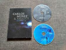 DVD CARLOS NUÑEZ & AMIGOS - DIRECTO 2004 - AUDITORIO CASTRELOS - VIGO - RARE