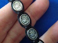 Saint Bracelet ARCHANGEL ST MICHAEL GUARGIAN ANGEL Protection Medal Mens Women