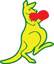 Boxing kangaroo sticker / Decal 200mm digital printed