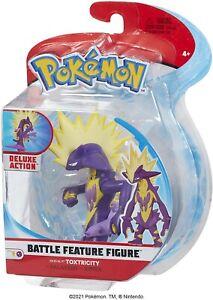 Pokemon Figure Action Toxtricity 3 7/8in Battle Figure Original BOTI Jazwarez