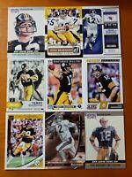 Terry Bradshaw HOF - NICE 9 CARD LOT Pittsburgh Steelers / LA Tech