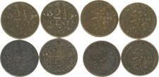 Niederlande Lot 4x 2 1/2 Cent 1914-1929 ss+   27109