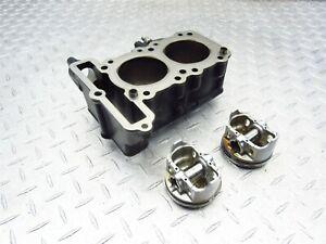 2009 08-12 Kawasaki Ninja 250R EX250 Engine Motor Cylinder Barrel Piston Jug OEM