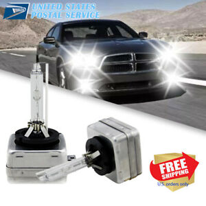 For 2011-2020 Dodge Charger - D3S Xenon HID Headlight Bulbs Kit*2 200W 6000K