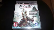 PS3 GAME ASSASSINS CREED 3 . tested and working.
