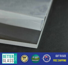Clear Acrylic A4 297mm x 210mm x 6mm Cast PMMA Perspex / Plexiglas UV Stable
