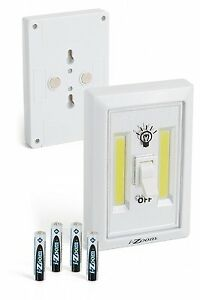 Bright LED Night Light Switch Wireless Cordless-Batteries Included-200 Lumens