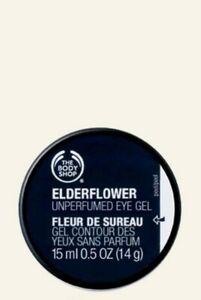 The Body Shop Elderflower Unperfumed Cooling Eye Gel 15ml CHEAPEST ON EBAY