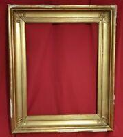 Cadre Doré Ancien XIX èmes EMPIRE, cadre à palmette