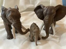 Schleich Elephant Family Lot, Retired, #14341, #14312, & #14322