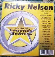 LEGENDS KARAOKE CDG RICKY NELSON #39 OLDIES ROCK 16 SONGS CD+G HELLO MARY LOU
