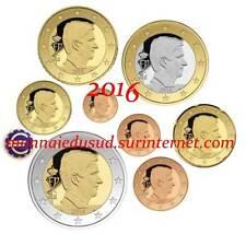 Série 1 Cent à 2 Euro BU Belgique 2016 - Brillant Universel