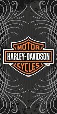 Harley Davidson Motorcycle Gray Vibe Bath, Pool, Beach Towel 30X60 LICENSED!