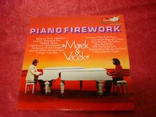 Doppel-LP, Marek & Vacek, Piano Firework, gebraucht, Polydor, Cover leider nicht