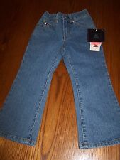 NWT TOMMY HILFIGER Stretch Blue Denim Jeans Toddler Girl 3T / 3 Free US Shipping