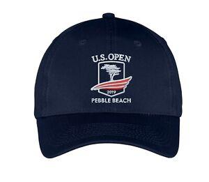 2019 US Open Pebble Beach Golf Tournament Embroidered Golf Hat Cap