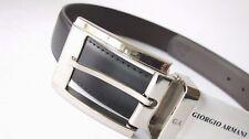 Authentic Giorgio Armani Reversible Leather Belt...large...new style...GA9409