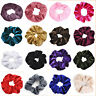 Women Summer Floral Hair Scrunchies Ring Elastic Fashion Sports Dance Scrunchie