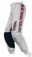 Fox Racing Girls 180 Race Pants Grey Red 3/4