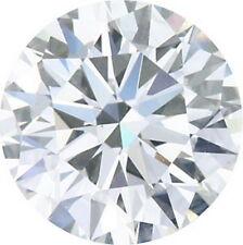 GIA Certified Round Brilliant 1/2 Ct .46 Carat E Color Vs2 Clarity Loose Diamond