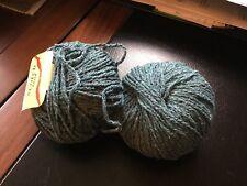 Katia Scotch Tweed Color 15 Blue GreenYarn 65% Silk, 26% Wool, 9% Viscose