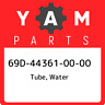 69D-44361-00-00 Yamaha Tube, water 69D443610000, New Genuine OEM Part