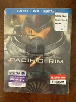 Pacific Rim Blu-Ray & DVD  Steelbook Limited Edition Import