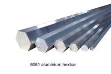 Aluminium Hex Bar 15.88mm @995mm +-5mm Qty2