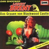 DAN SHOCKERS LARRY BRENT - 08/DAS GRAUEN VON BLACKWOOD CASTLE  CD 4 TRACKS  NEW