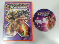 ACTION MAN AM X MISSIONS LA PELICULA DVD ESPAÑOL ENGLISH ANIMACION